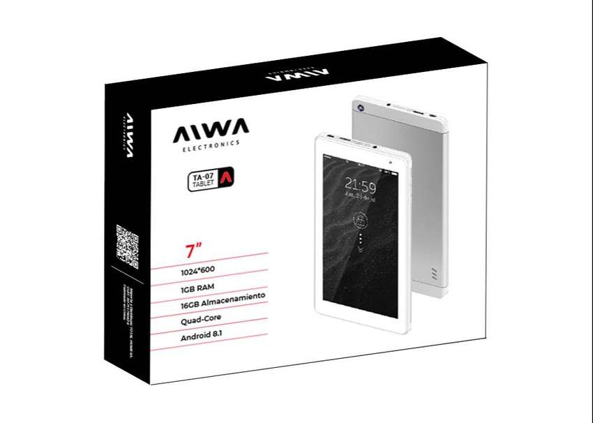 Tablet Aiwa Ta-07 Pantalla De 7 Pulgadas 16gb-mar Del Plata