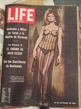 Revistas Life Años 60's , Libros , Enciclopedia, Diccionario, cuaderno