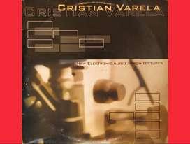NEW ELECTRONIC AUDIO by CRISTIAN VARELA vinyl 12 pulgadas Lps Records acetatos vinilos singles para tornamesas Djs