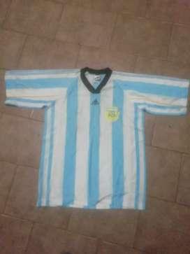 Camiseta de la selección argentina adidas 1998