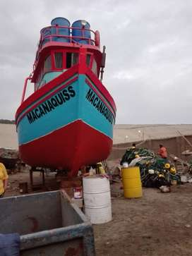 Embarcación Pesquera de 7 ton. de Capacidad de Bodega