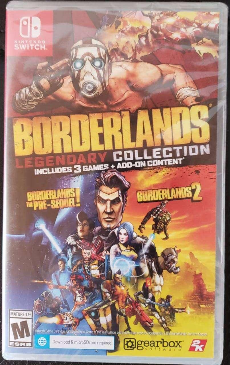Borderlands Legendary Collection Switch y otros oferta incluye envío! 0