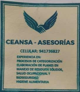 ASESORIA EN CATEGORIZACION