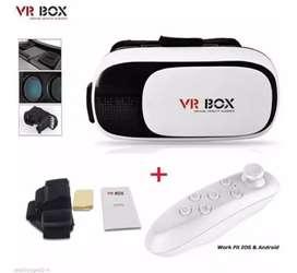 Gafas 3d Realidad Virtual Vr Box + Control Bluetooth Orignal (ENVÍO GRATIS)