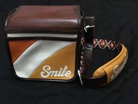 Bolso de cuero para camara nuevo marca Smile