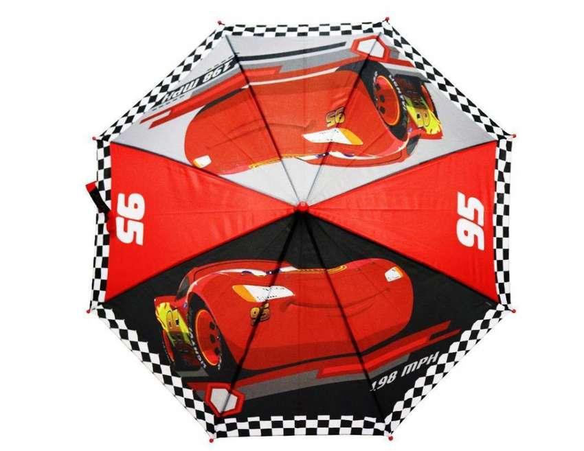 Sombrilla Cars Niño Original Disney Resistente Calidad