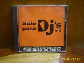 CD ORIGINAL SOLO PARA D.JS Nº 2
