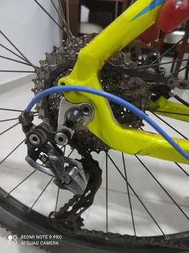 Bicicleta optimus sagita 9 velocidades