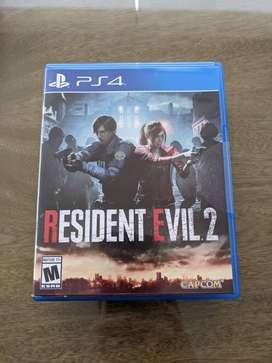Resident Evil 2 PS4 NUEVO