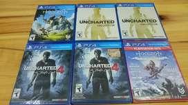 Uncharted 4 Sellado Fisicoplay 4