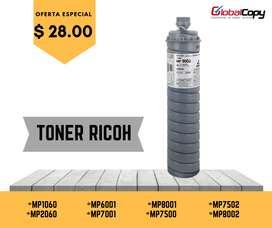 TONER RICOH MP1060/1075/2060/2075/6001/6002/7000/7001/7500/7502/8000/8001/8002/9001/9002 EN IMAGE/INTERCOPY/ADVANCED