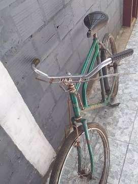 Bicicleta doble caño