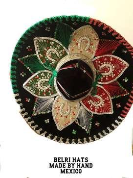SOMBRERO DE MARIACHI BELRI HATS mexico original