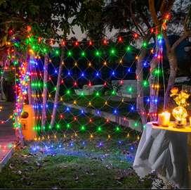 Vendo cortina de luz multicolor