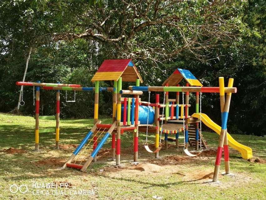 Venta de parques infantiles en madera Villavicencio Meta 0