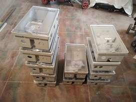 Cajas Polimericas Portamedidor De Luz