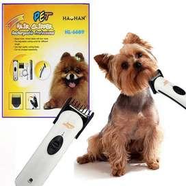 Maquina Corta Pelo Para Mascotas Inalambrico Hl-6609