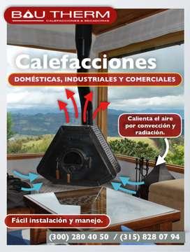 CALEFACCION-ES, CHIMENEA-S ECOLÓGICAS BIOCOMBUSTIBLE BAUTHERM