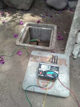 Ingeniero electricista pozo a tierra