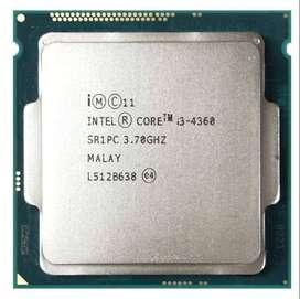Procesador Core i3-4360 3.70GHZ LGA 1150