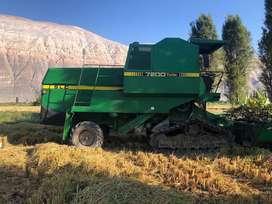 Venta de dos cosechadoras John Deere en perfecto estado de funcionamiento