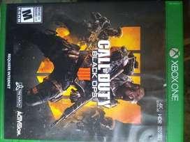 Vendo juego xbox one CALL OF DUTY 4