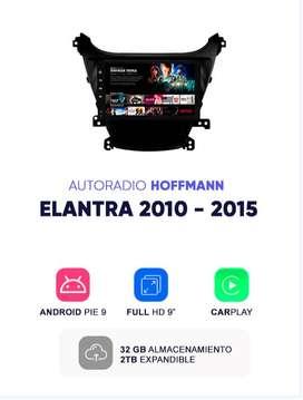 Autoradio Hoffmann Homologado Hyundai Elantra 2010 – 2015 9″ CarPlay Android 9.1