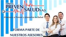 Se Solicita Asesores/as para realizar afiliaciones al sistema de salud (EPS)