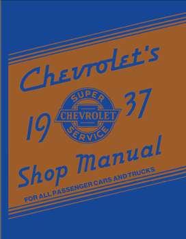 CHEVROLET 1937 MANUAL DE TALLER