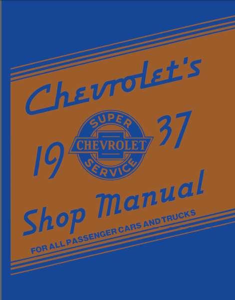 CHEVROLET 1937 MANUAL DE TALLER 0