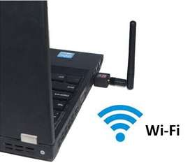 Antena Usb Wifi Para Computadores Portátiles Windows O Mac