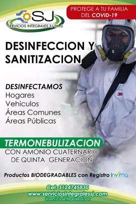 SERVICIOS DESINFECCIÓN POR TERMONEBULIZACIÓN