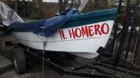 Bote Lagunero buen estado.