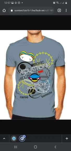 Camisetas wwe akolatronic