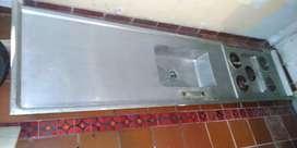 Cosina meson aluminio 270x 75