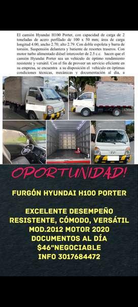 Oportunidad Furgón HYUNDAI H100 Porter