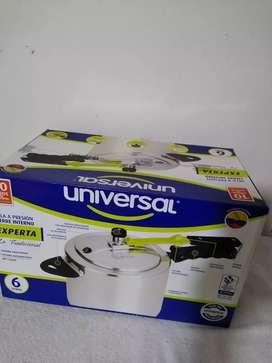 Olla a presión universal 6 litros