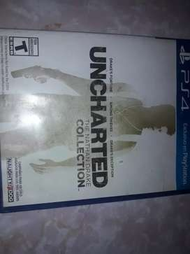 Vendo uncharted 1,2,3