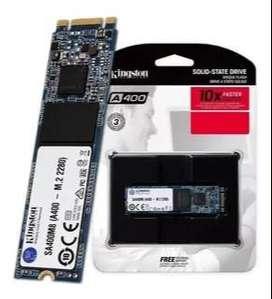 SSD SATA A400 en formatos 2,5 y M.2 de 480gb