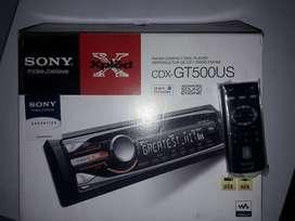 VENDO SONY CDX GT 520U NUEVO