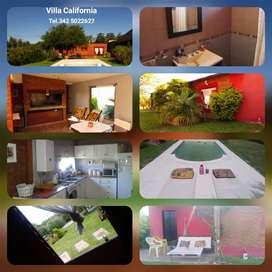 alquiler temporario en Villa California