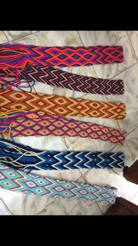 Fajones en tejido wayuu