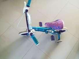 Bicicleta para niña de 2 a 3 años