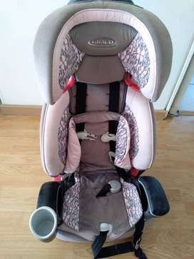 Silla de seguridad niña para auto