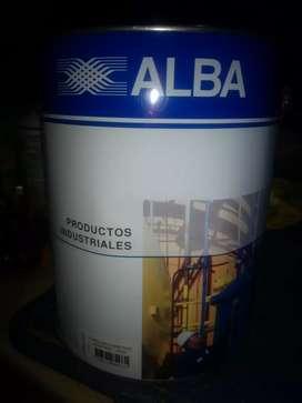 Fondo anticorrosivo ALBA rojo,gris x4 LTS