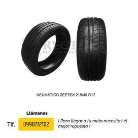 LLANTAS 215/45 R17 ZEETEX