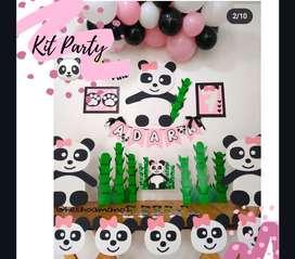Kit decoración Panda