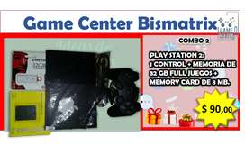 COMBO 2 (PLAY STATION 2)