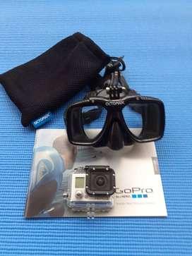 Careta de buceo Octomask para GoPro