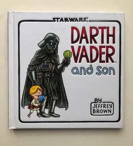 Libro infantil star wars - darth vader and son (libro en ingles) usado como nuevo